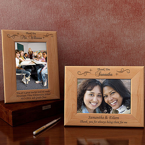 Thank You Wooden Picture Frame