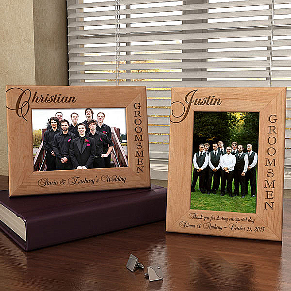Groomsman Wooden Picture Frame