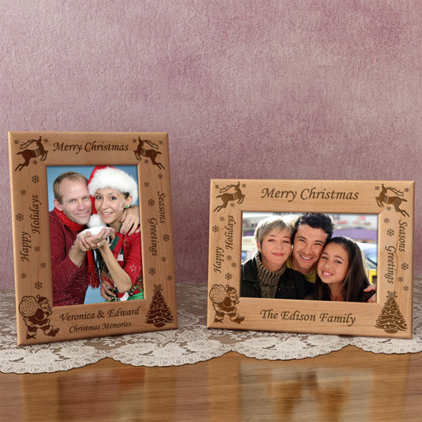 Christmas Wooden Picture Frame