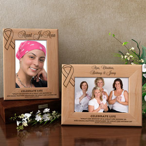 Celebrate Life Wooden Picture Frame
