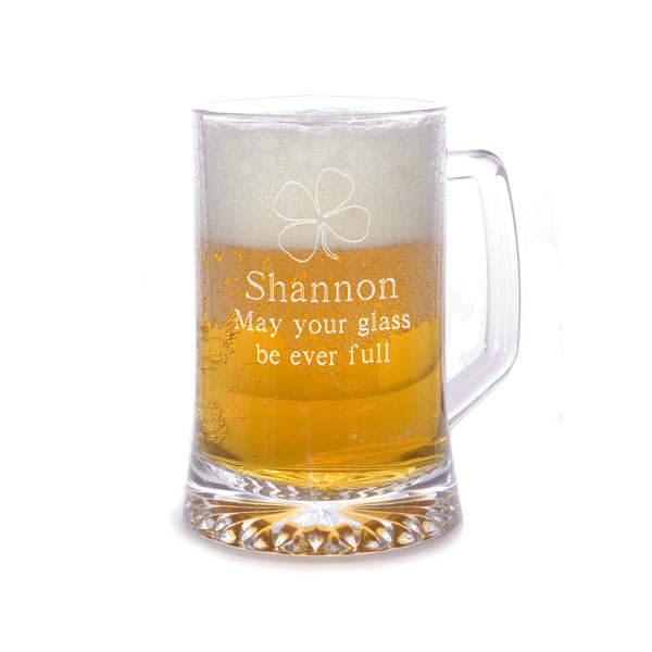 25 oz. Four-Leaf Clover Beer & Sports Mug