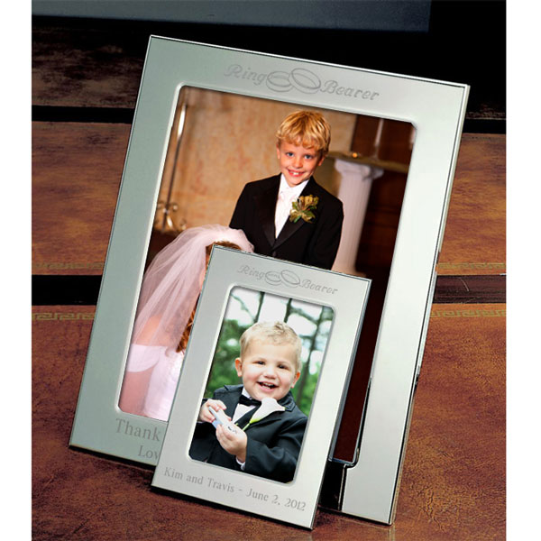 Ring Bearer Silver Picture Frame
