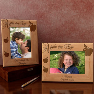 Apple of My Eye Wooden Picture Frame
