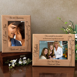 Make Your Own Flower Wooden Picture Frame