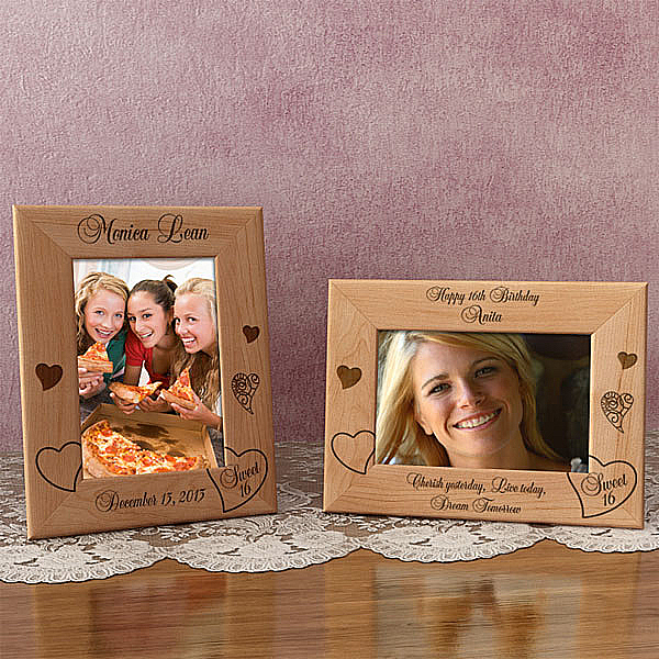 My Sweet 16 Wooden Picture Frame