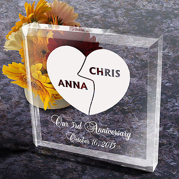 My Better Half Keepsake & Paperweight