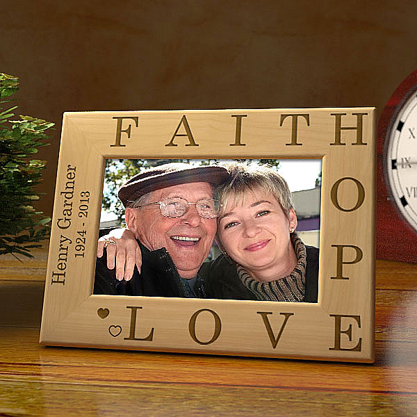 Faith In You Wooden Picture Frame