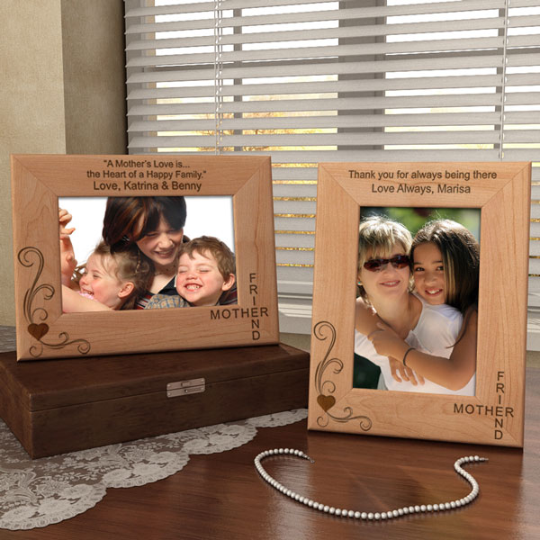 Mother & Friend Wooden Picture Frame