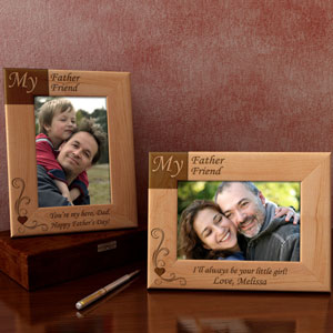 My Father, My Friend Wooden Picture Frame