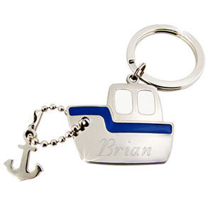 Steamboat Key Chain