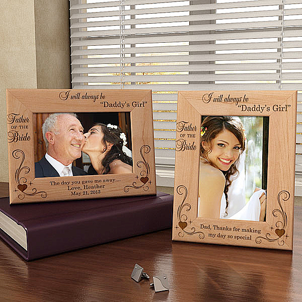 Always Daddy's Girl Wooden Picture Frame