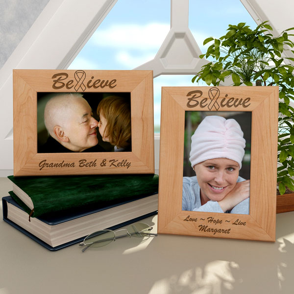 Believe Wooden Picture Frame