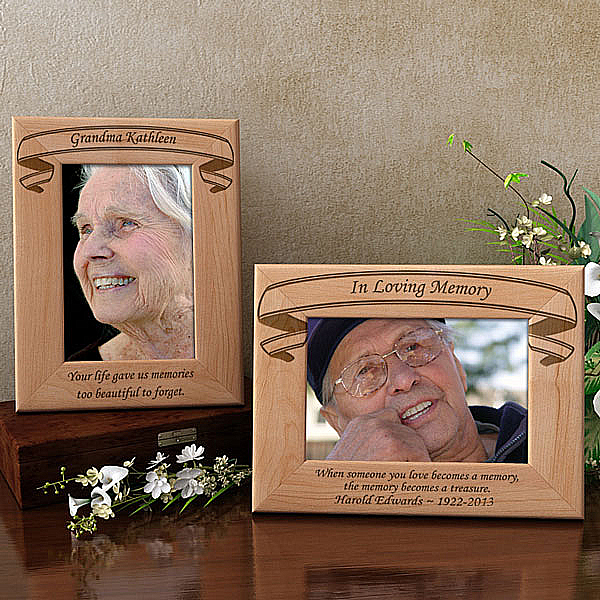Forever In Memory Wooden Picture Frame