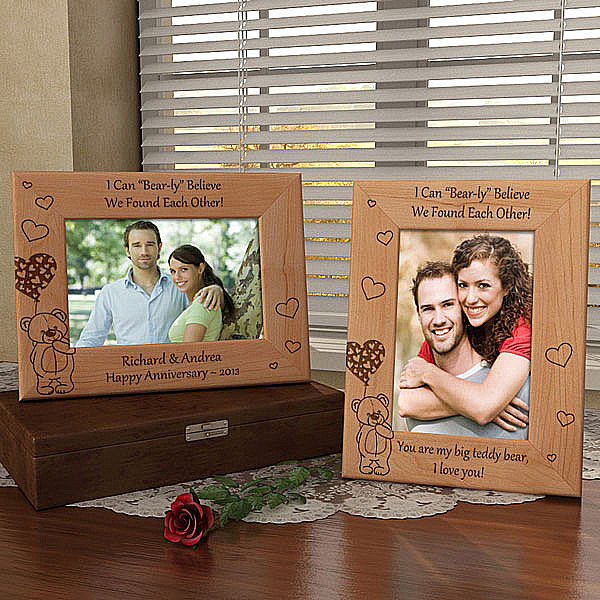 I Can Bear-ly Believe...Wooden Picture Frame