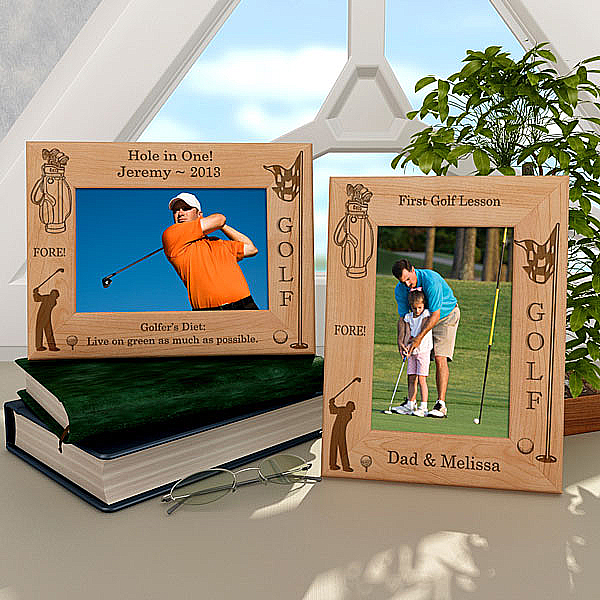 Golf Wooden Picture Frame