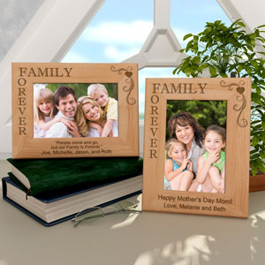 Our Family is Forever Wooden Picture Frame