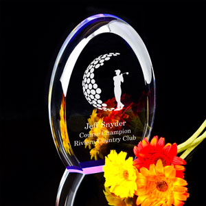 Golfing Award & Keepsake