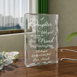A Daughter and Friend Keepsake
