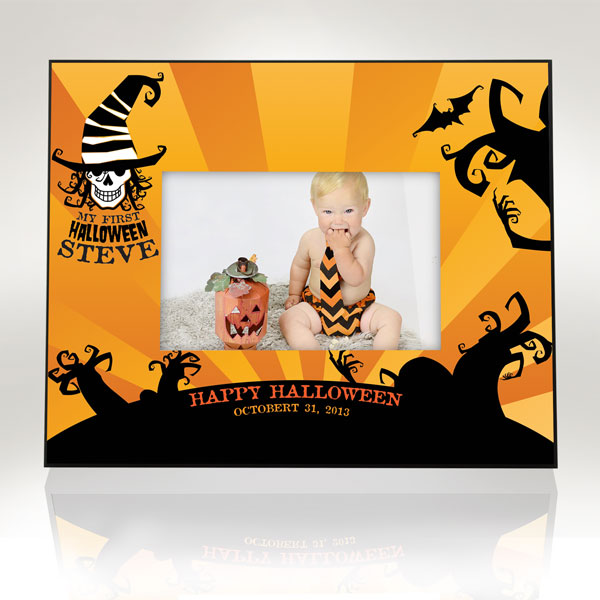 My First Happy Halloween Picture Frame