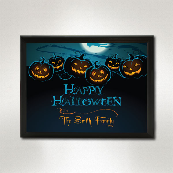 Happy Halloween Plaque