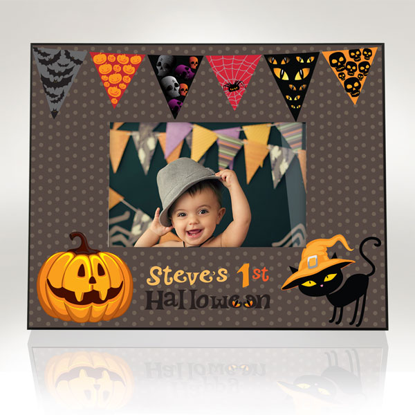 My Spooky 1st Halloween Picture Frame