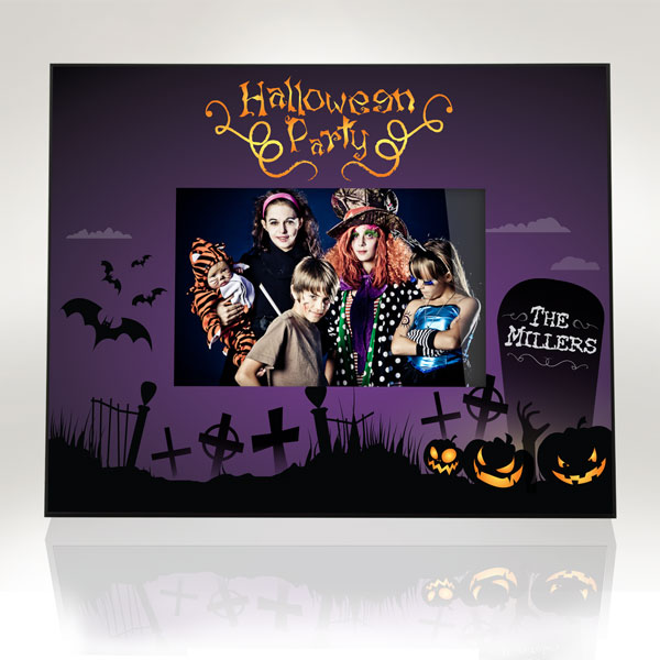 Halloween Party Picture Frame