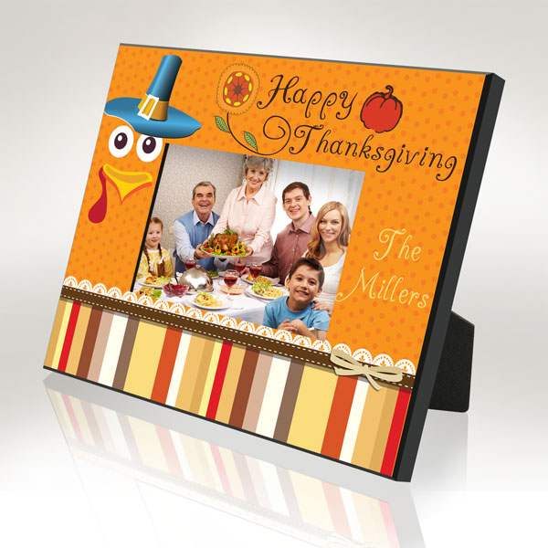Happy Thanksgiving Picture Frame