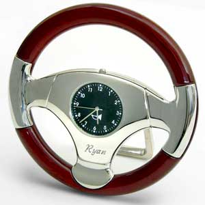 Steering Wheel Clock