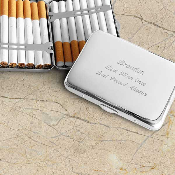 Make Your Own Silver Plated Cigarette Case