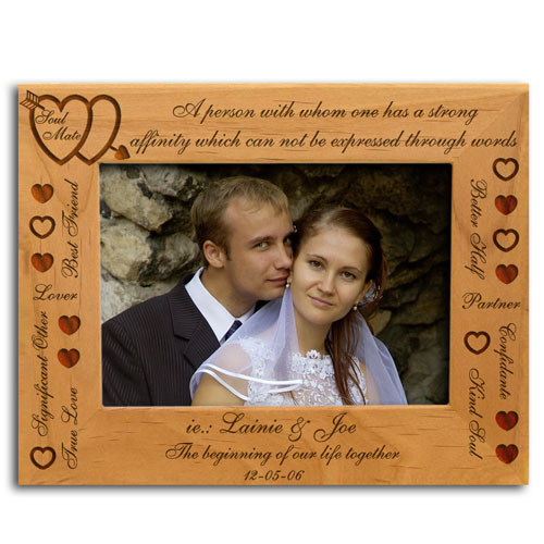 Personalized Soul Mate Picture Frame