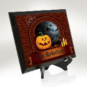 Cozy Halloween Plaque